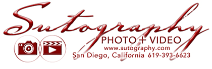 San Diego Wedding Photographer and Videographer | Sutography – Photography and Videography logo